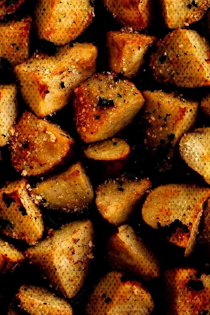 | The Recipe Critic -Parmesan Garlic Roasted Potatoes | The Recipe Critic -Garlic Roasted Potatoes
