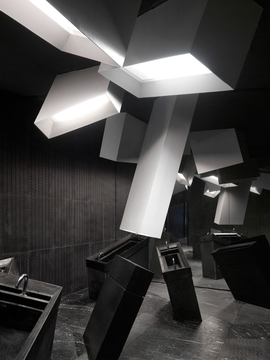 One Plus Partnership's Cinema Interior Resembles The