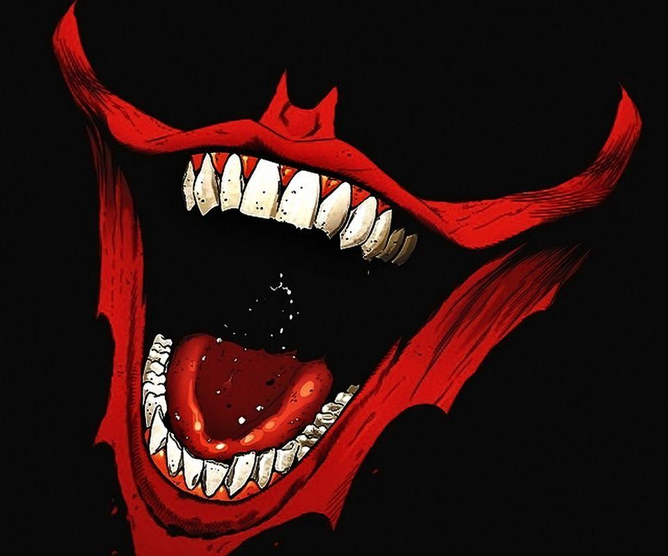 Download Joker Smile 960 X 800 Wallpapers