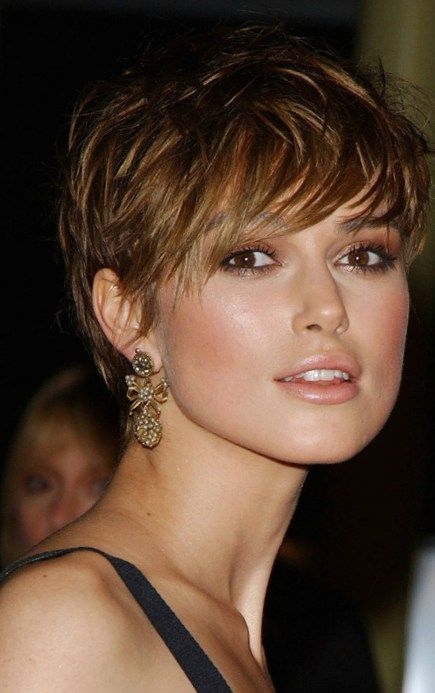 Short Sexy Hairstyles Brilliant Keira Knightley Short Sexy Hairstyle  Cabelos  Pinterest  Short