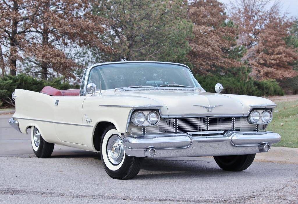 1958 Chrysler Imperial Convertible Chrysler Imperial Chrysler