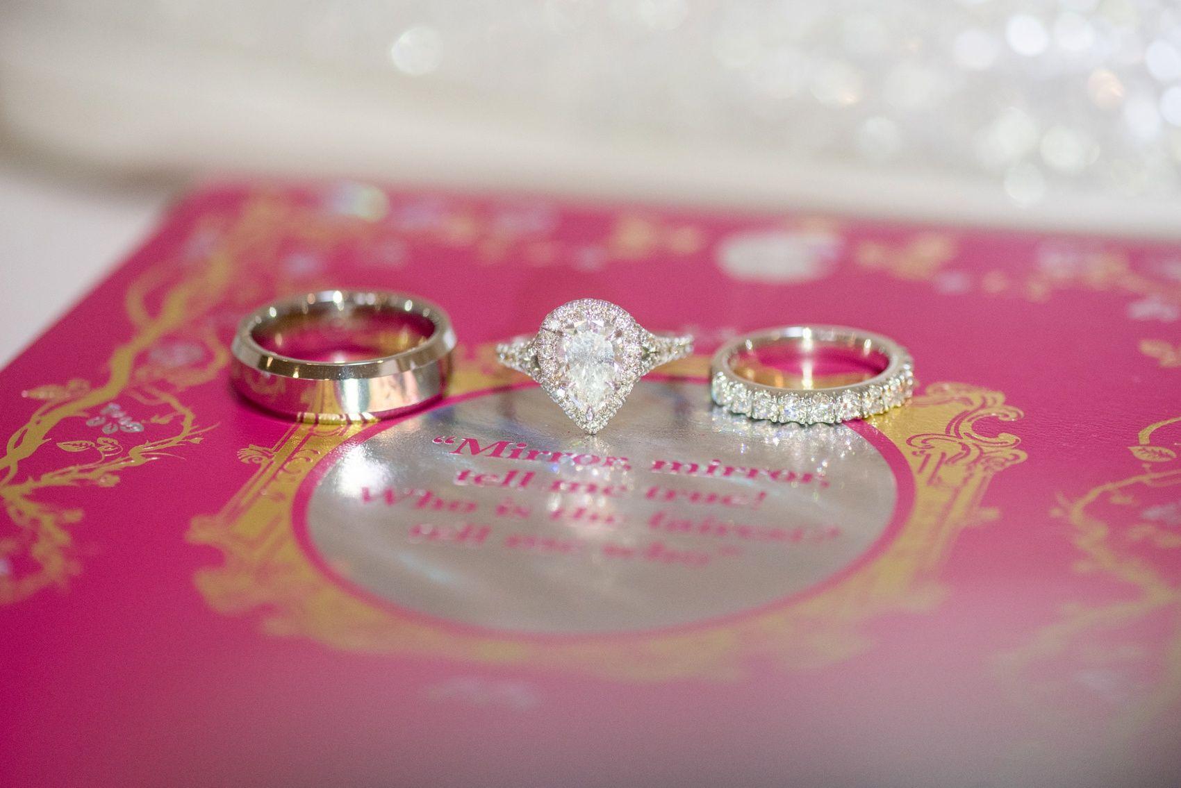 Beautiful wedding ring shot by Olivia Christina Photography #wedding ...