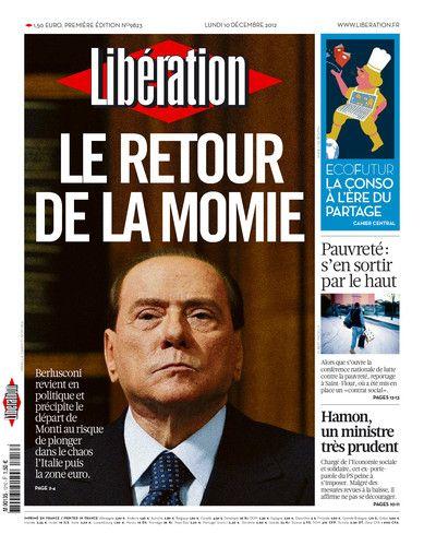 Libération, journal numérique du 10 décembre 2012