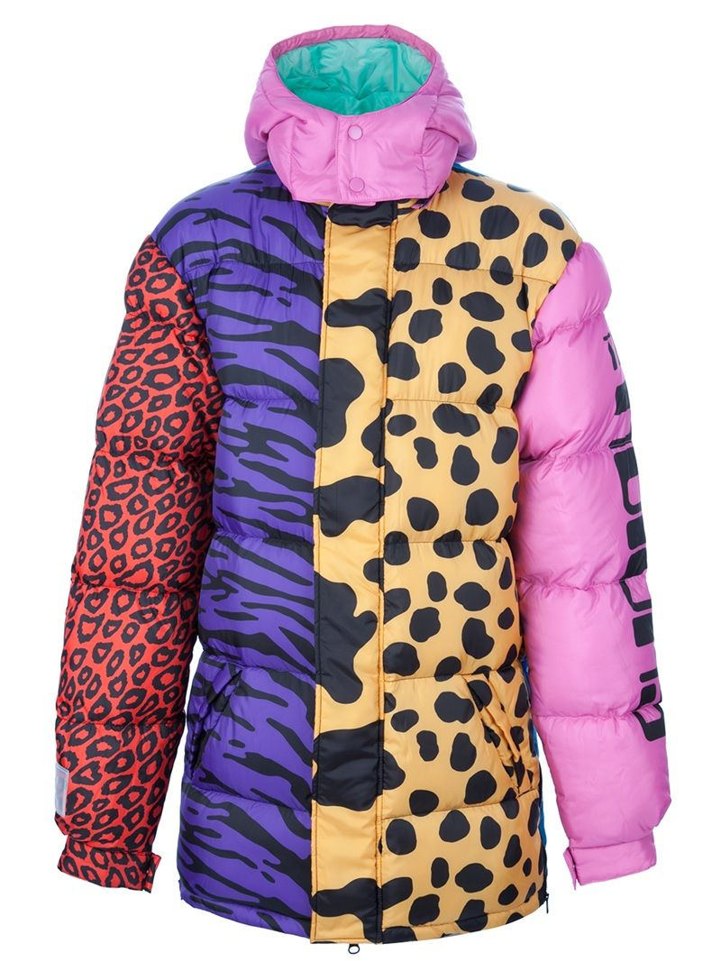 new concept f4c7a a1e18 JEREMY SCOTT animal print padded jacket  871.78