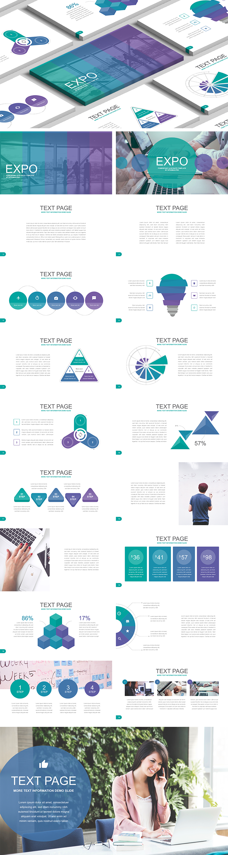 Expo Free Keynote Template  Free Download Now  Keynote