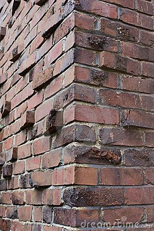 Klinker or Clinker brick corner brick Pinterest