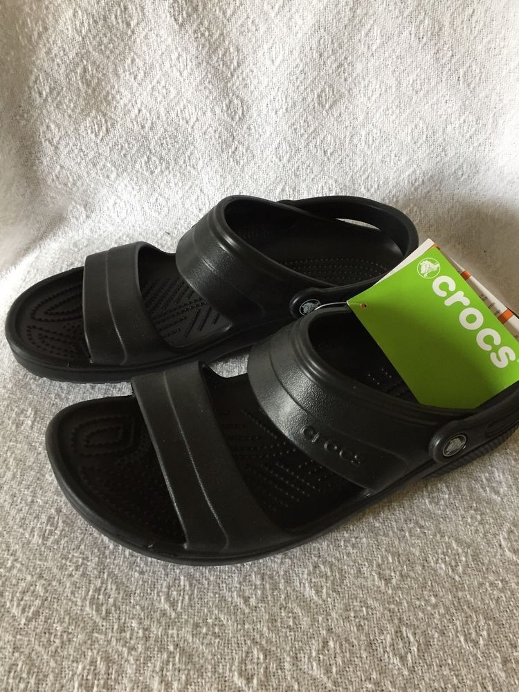 0f406f0bc Crocs Unisex Classic Sandals Black Roomy Fit Men Sz. 10 Wom. Sz. 12  fashion   clothing  shoes  accessories  unisexclothingshoesaccs  unisexadultshoes  (ebay ...
