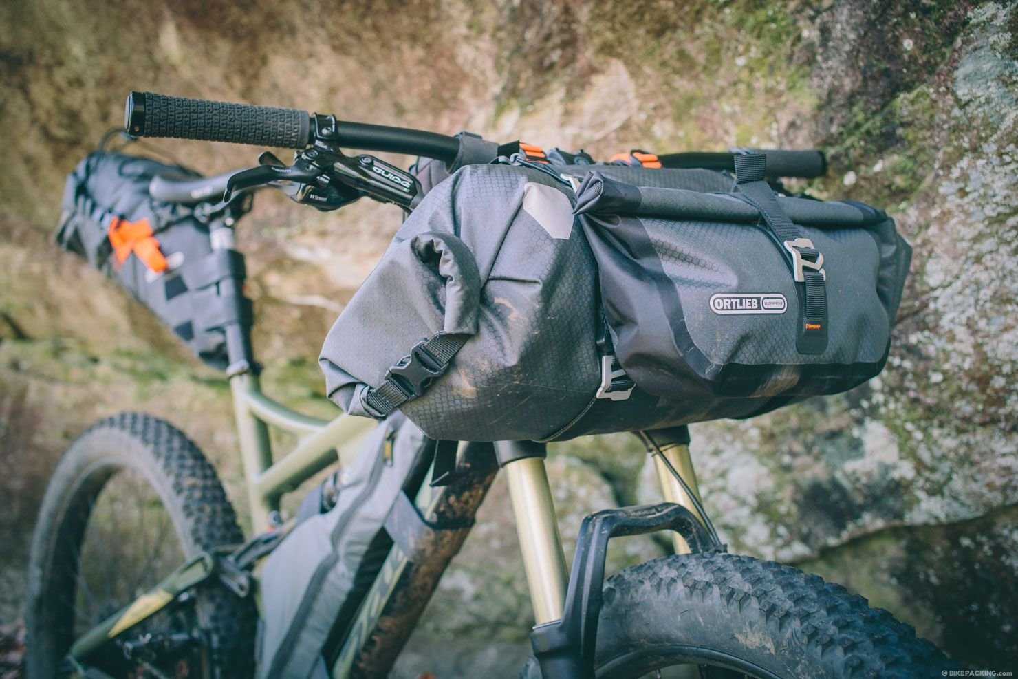 Ortlieb Handlebar Pack Review Bikepacking Bikepacking Bags