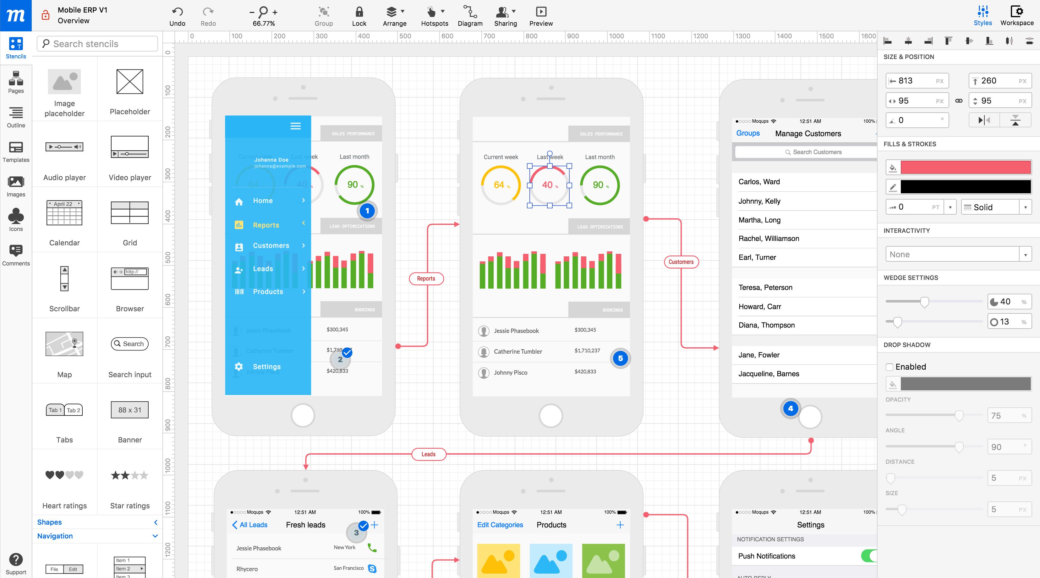 Maqueta En Linea De Carcasa Y Herramienta De Prototipado Interfaz De Usuario Moqups Wireframe Prototyping Tools Flow Chart Design