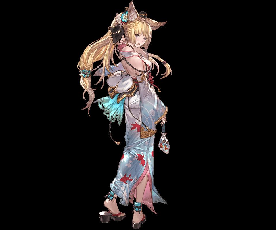Yuisis Summer Granblue Fantasy Wiki Fantasy Girl Character Art Anime Artwork
