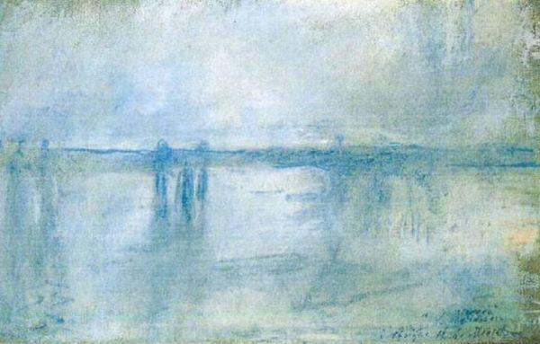 """Charing Cross Bridge, London"" by Claude Monet"