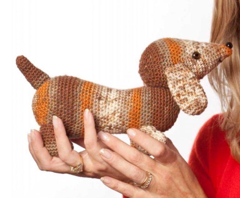 Amazon.com: SSJSHOP Puppy Dog Small Figurines Amigurumi Animals ... | 632x768