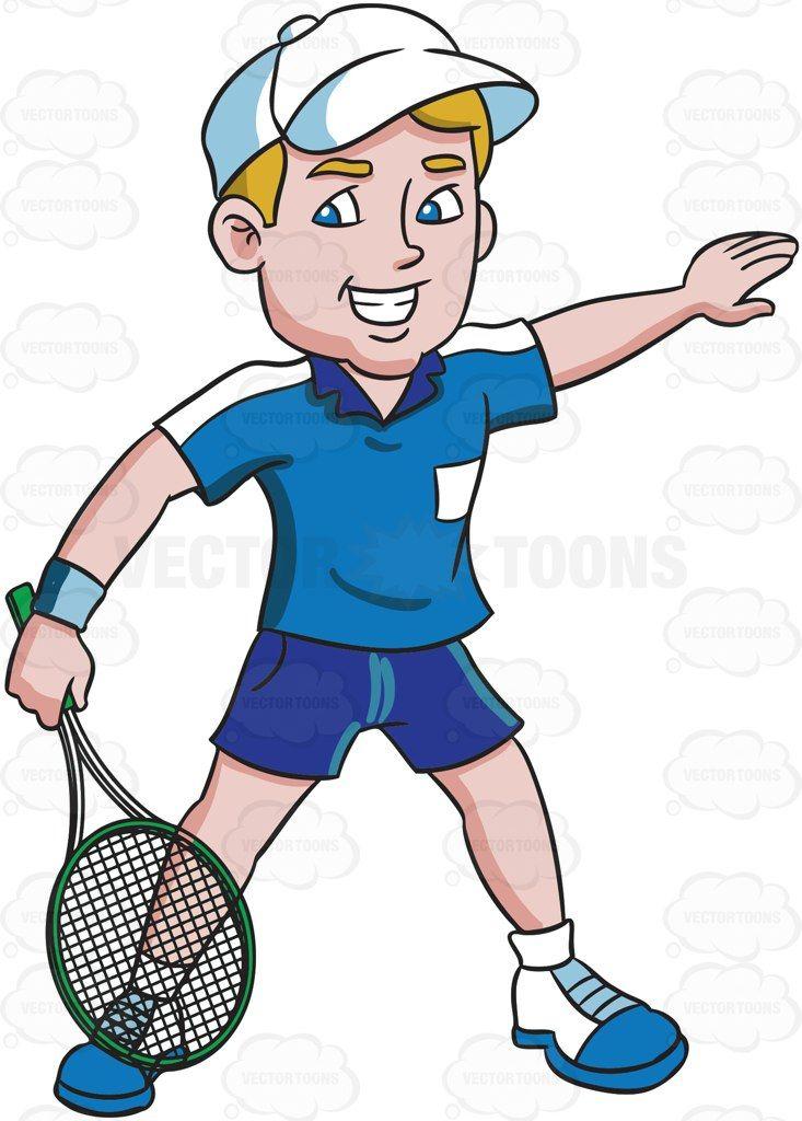 A Happy Tennis Player Tennis Players Tennis Players
