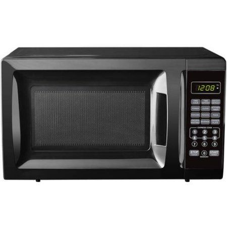 Mainstays 700w Output Microwave Oven Black Countertop Microwave
