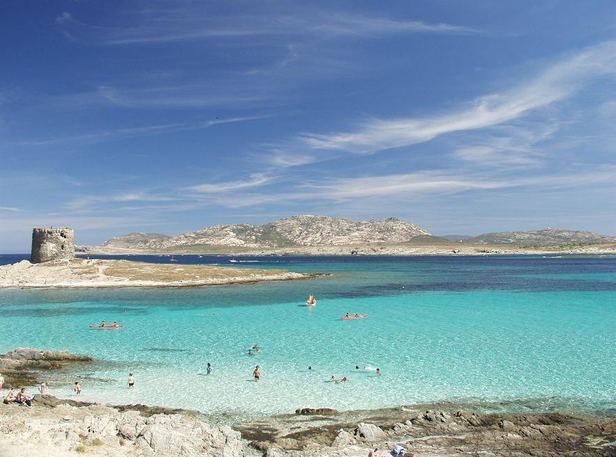 La Pelosa Beach Stintino Sardinia Best Beaches Hotels In Alghero Accommodation Near