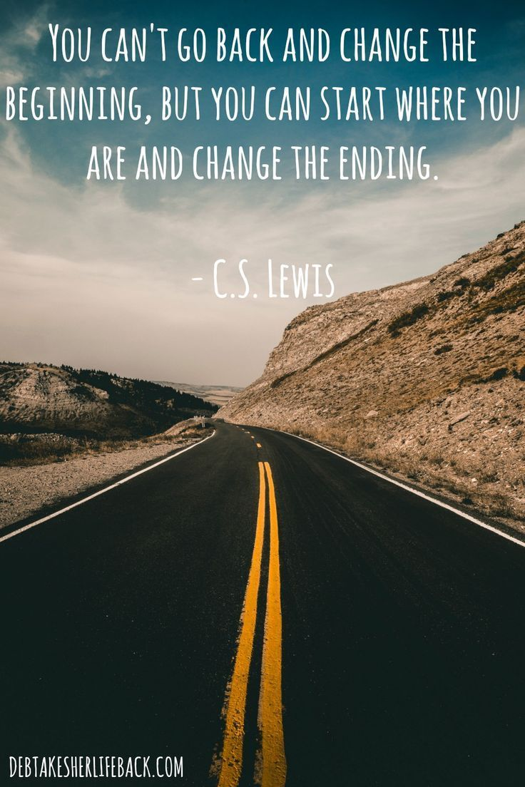Cs Lewis Quotes New Beginning: The Past Is Over. So Where Are You Going NOW? #quote