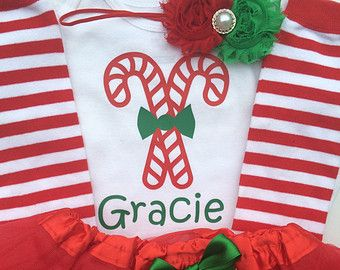 Toddler girl Christmas Outfit - Candy Cane Cutie outfit - personalized Christmas toddler- christmas legwarmers - christmas toddler girl