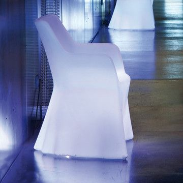 Indoor/Outdoor Illuminated Phantom Chair By Domitalia On Gilt Home Design Inspirations