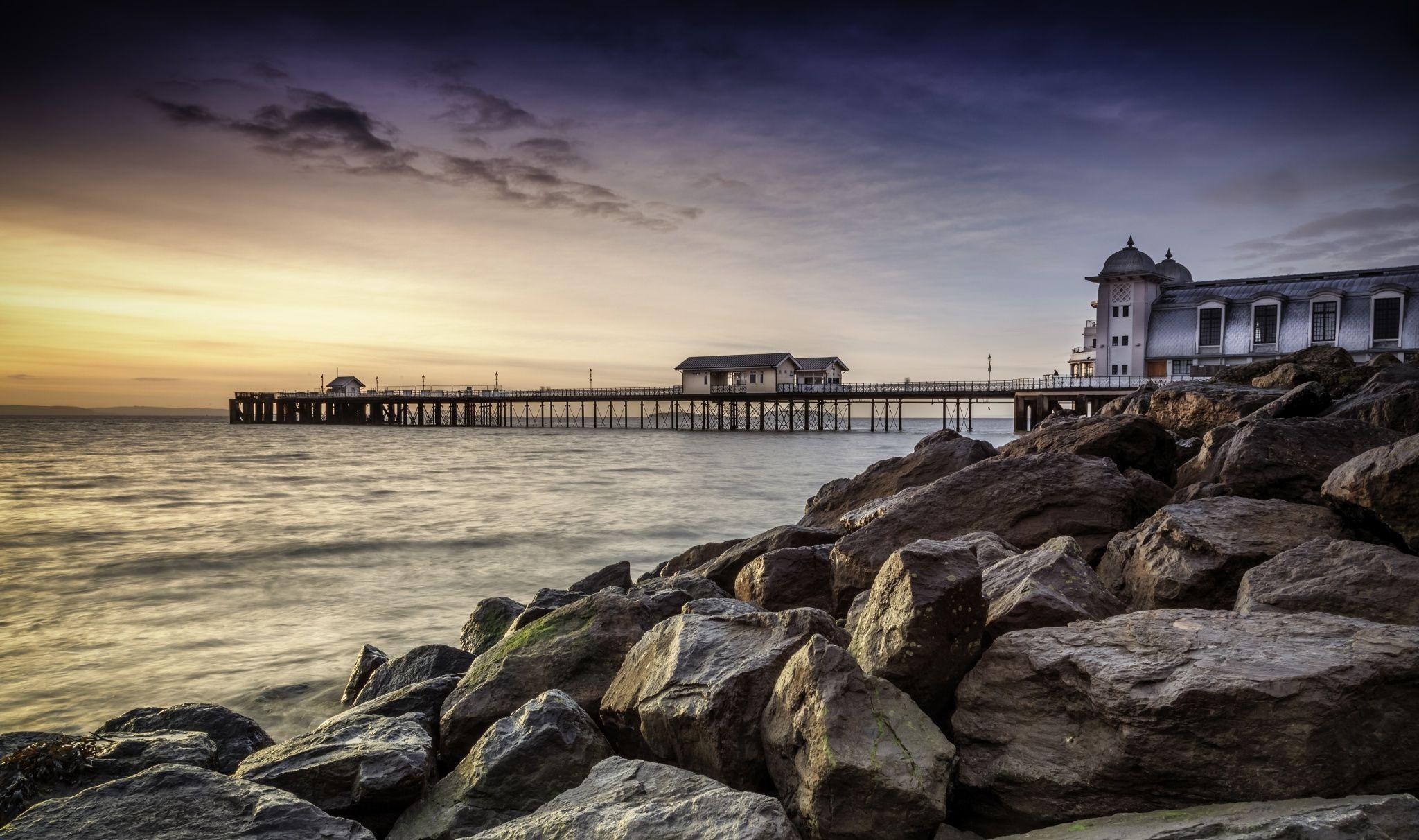 Photograph Penarth Pier by Steve Deakin on 500px