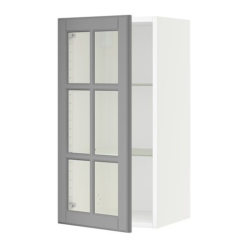 Sektion Bodbyn Grey Glass Doors And Doors