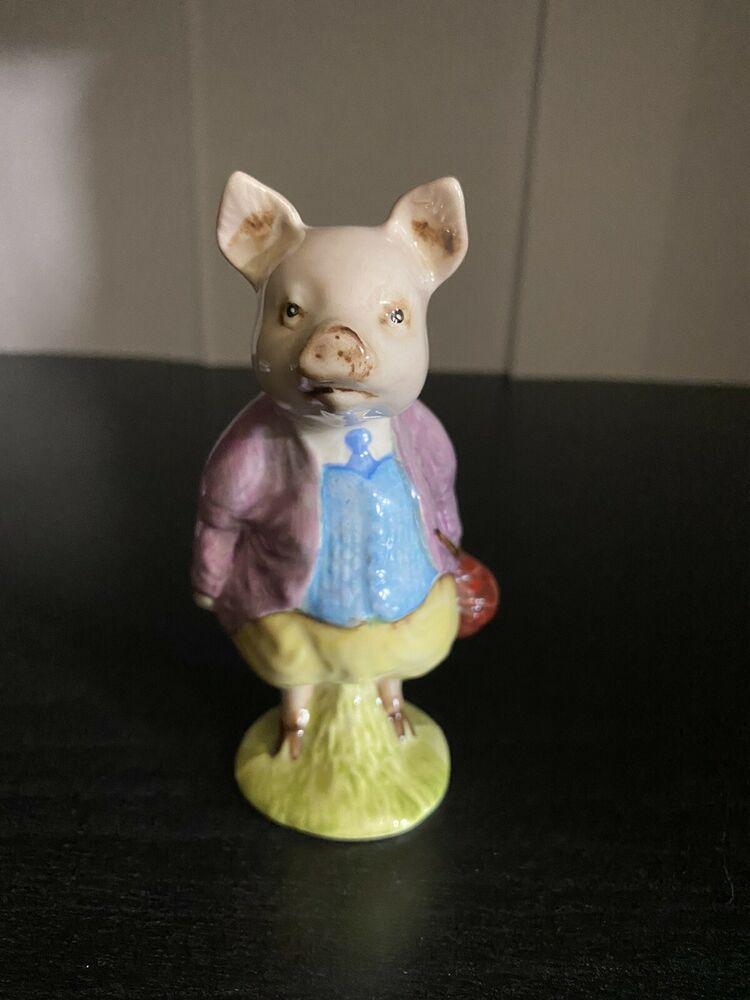 Beatrix Potter Pigling Bland Figurine F Warne & Co