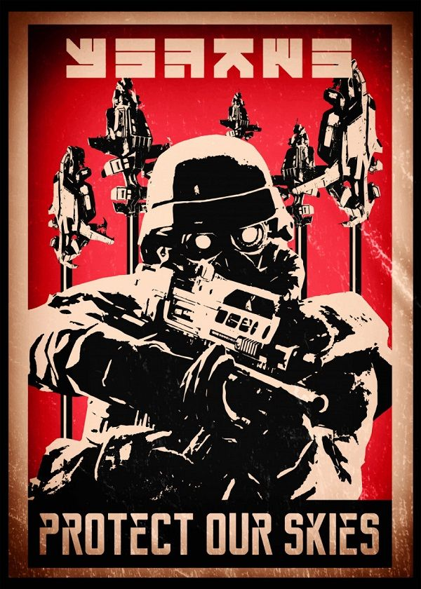 Killzone Propaganda Displate Posters