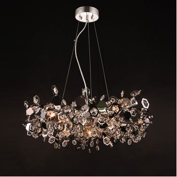 Bathroom Light Fixtures Costco costco: di luce halley pendant modern crystal light fixture