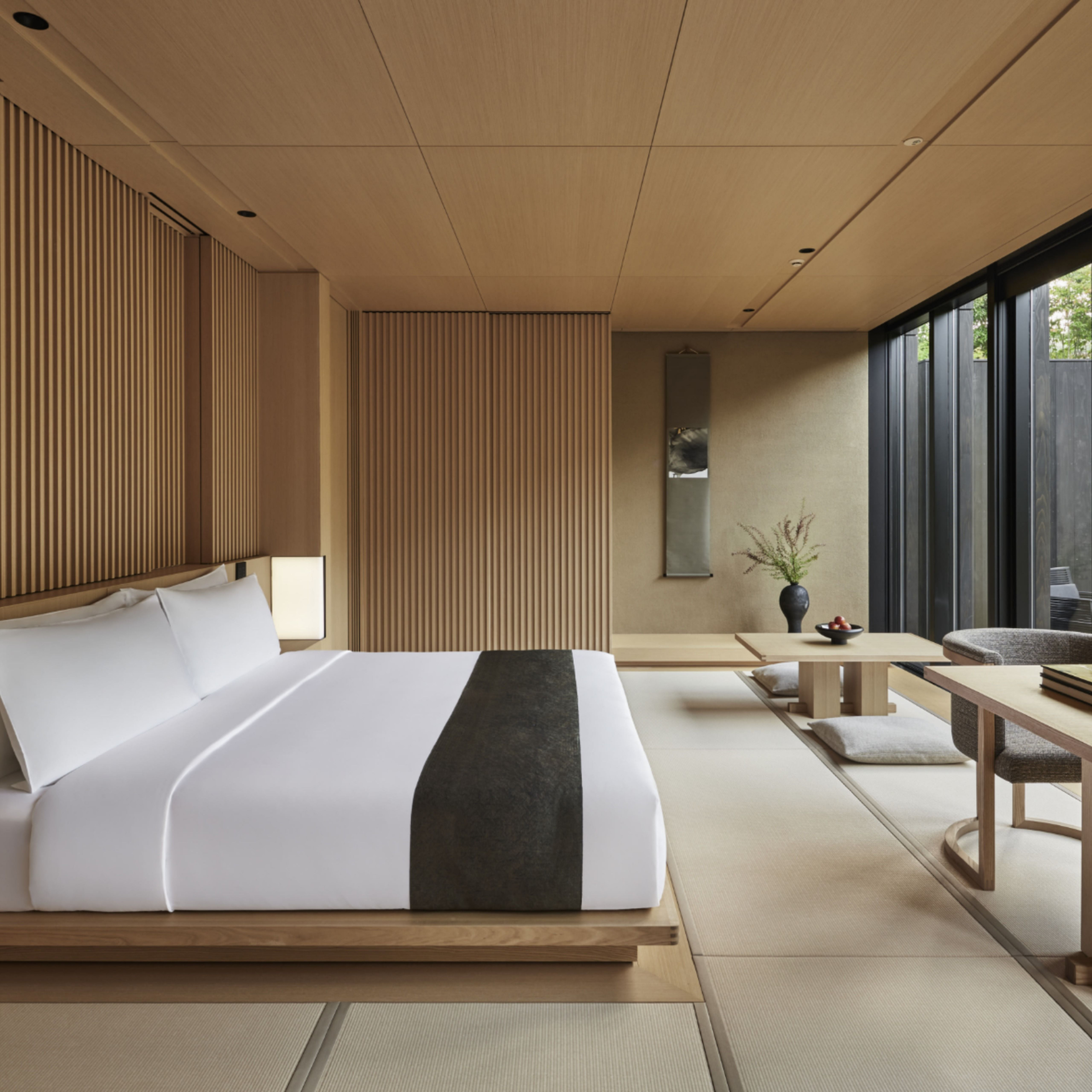 Hotel Aman Kyoto Japanese Home Design Japanese Style Bedroom Luxury Hotel Room