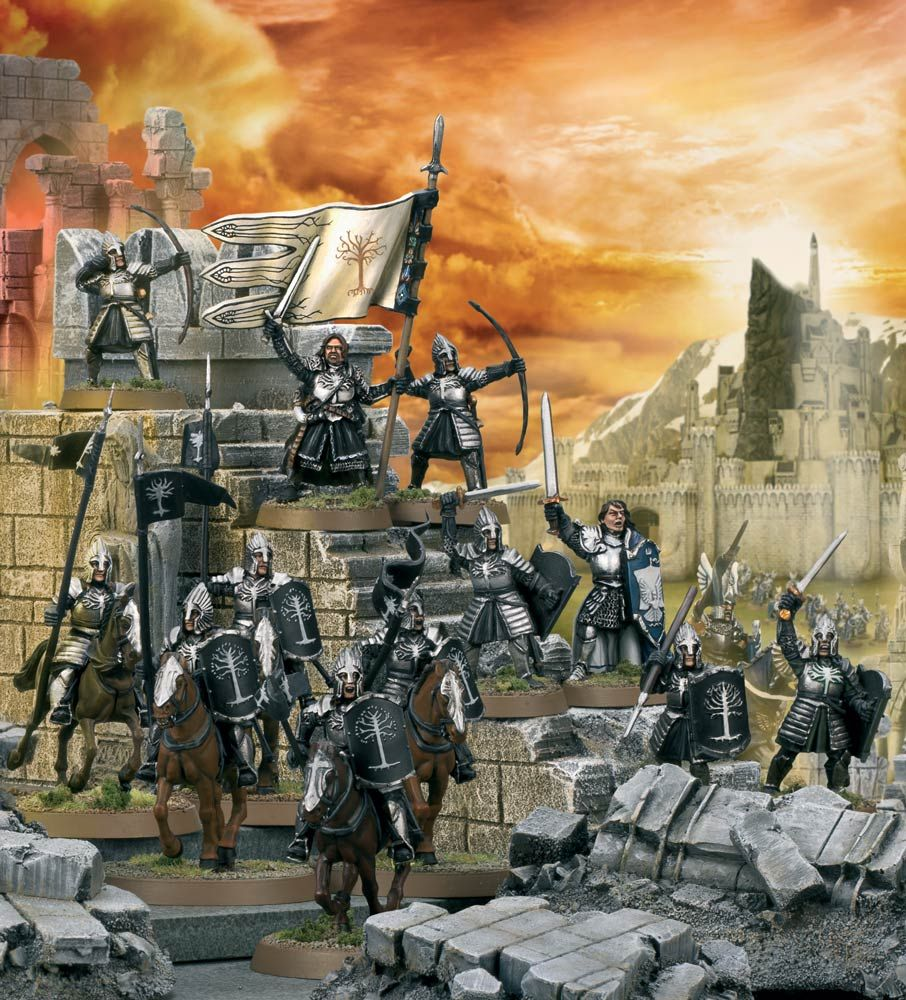 Middleearth strategy battle game big rules changes