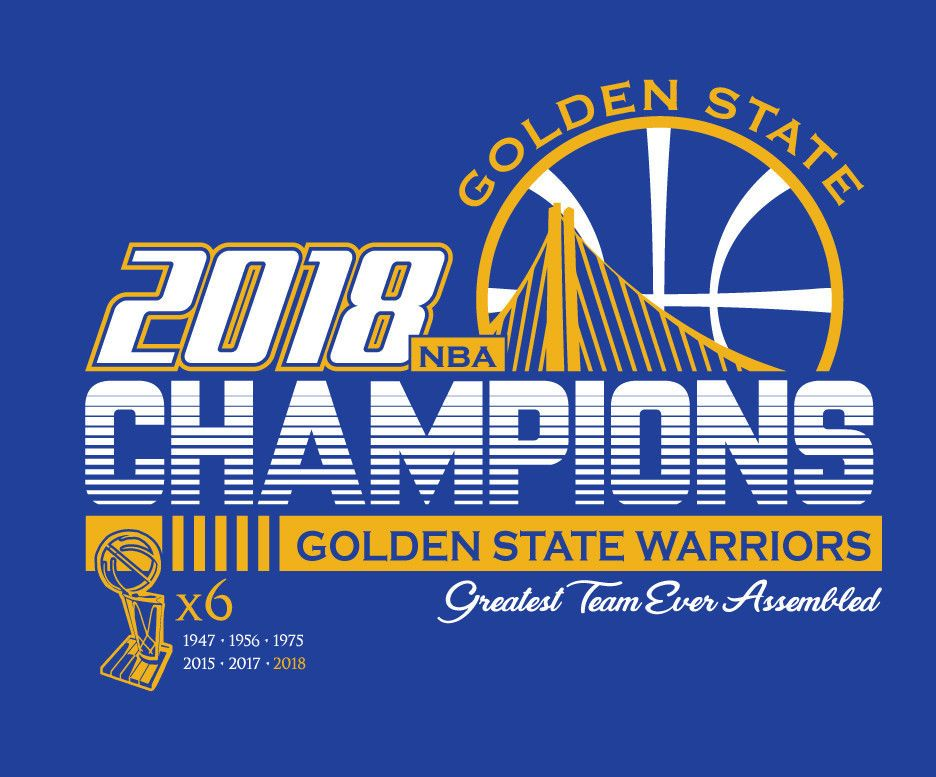 cheaper bbcee c6d71 Details about GOLDEN STATE WARRIORS CUSTOM T-SHIRT NBA 2018 ...
