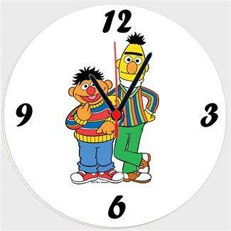Edi ve Büdü Ayakta - Kendin Tasarla - Duvar Saati 27cm