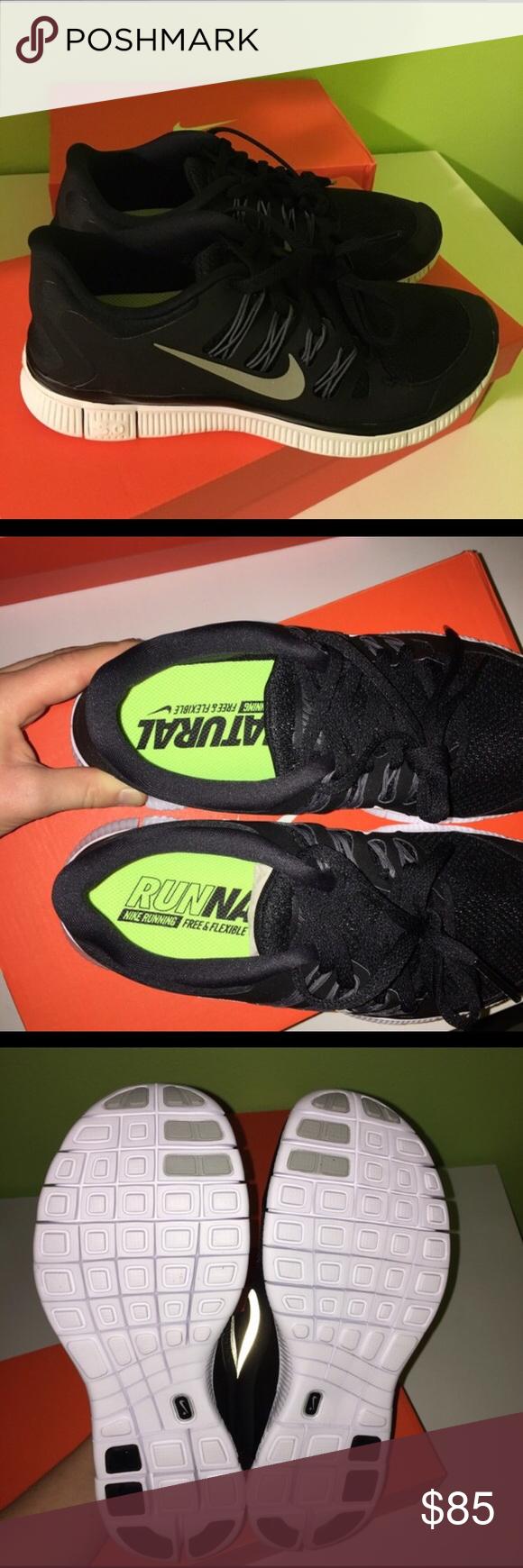 Negro Nike Free Run + In Size 6 Brand New In + Box WoHombres Nike Free f03e62