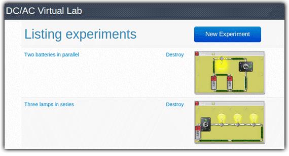 DC/AC Virtual Lab - Simulate circuits | Virtual Simulation and Games