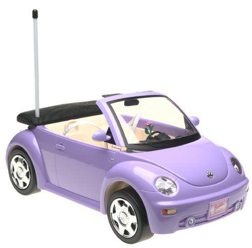 Barbie REMOTE CONTROL Purple VOLKSWAGEN VW New Beetle