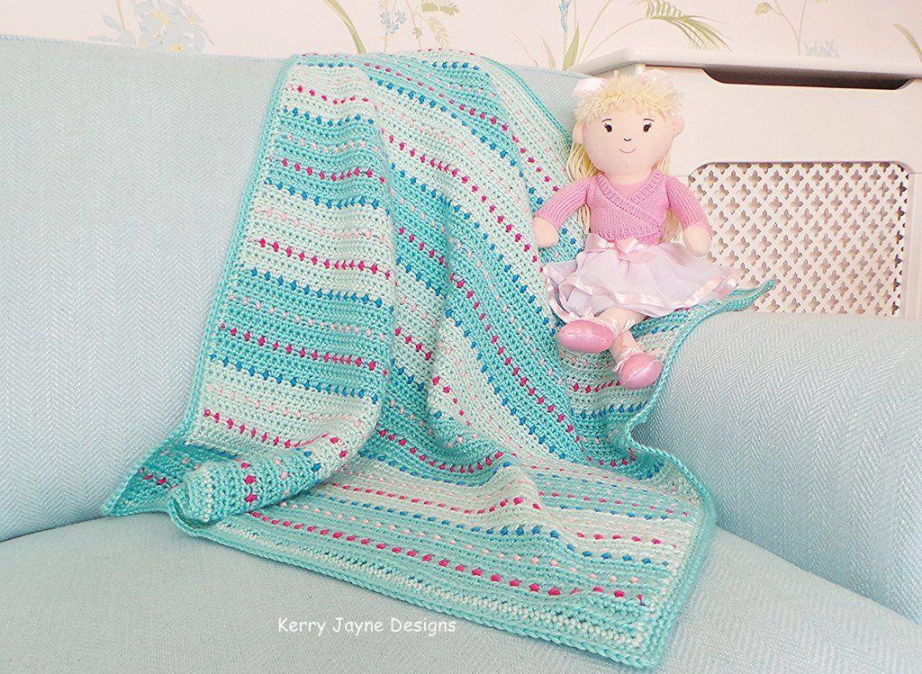 Dinky Dot Baby Blanket Crochet Pattern