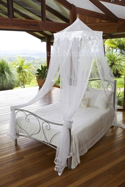 Mosquito Net Temple FITS TWIN TO QUEEN Beds