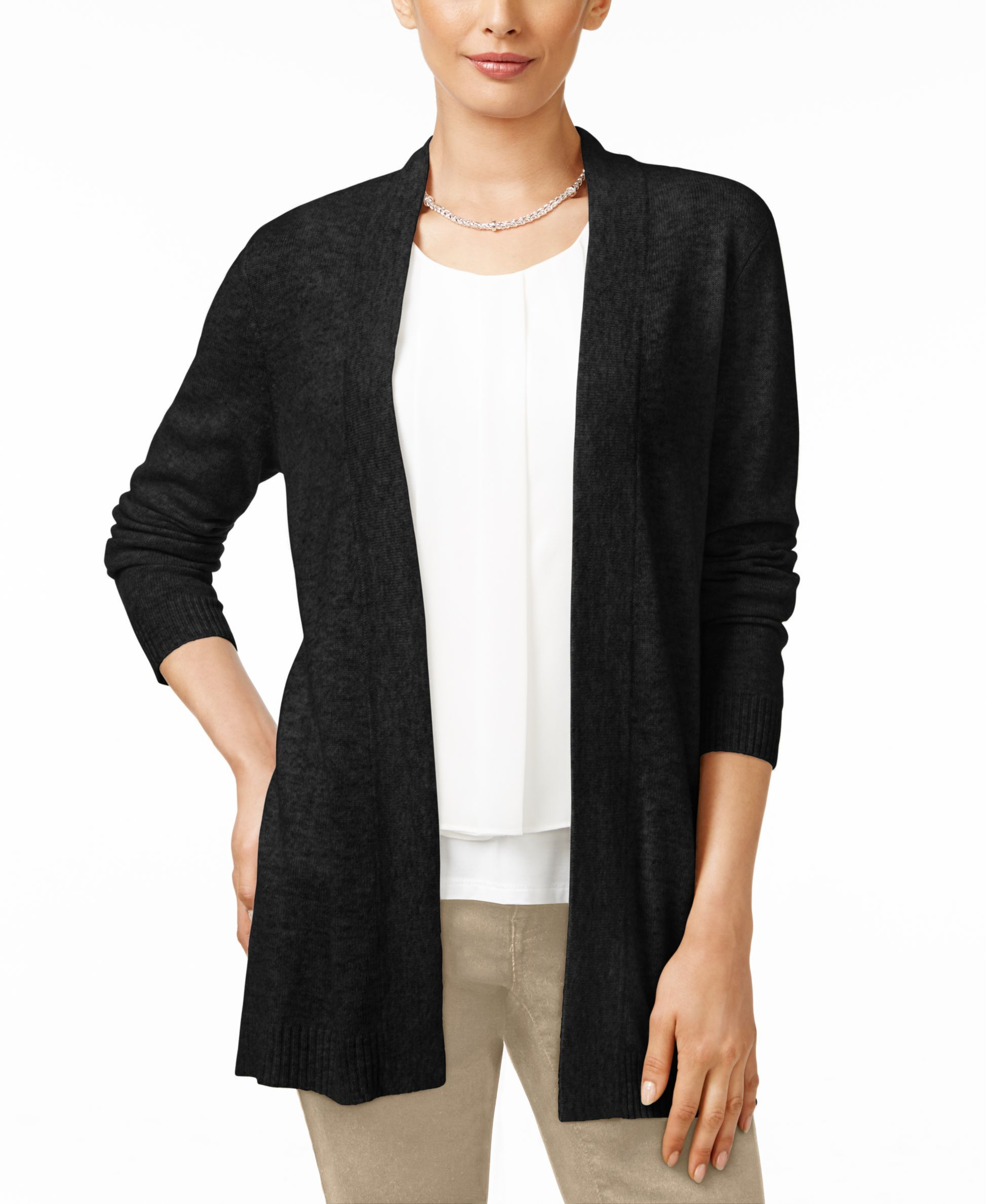 Charter Club Cashmere Duster Cardigan, Only at Macy's | Products ...