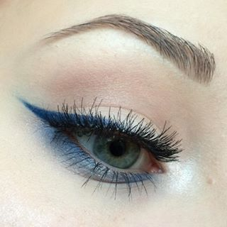Flex Morphe Gel Eyeliner Navy Blue Matte Gel Eyeliner Eyeliner Gel Gel liner lasting color (10). flex morphe gel eyeliner navy blue