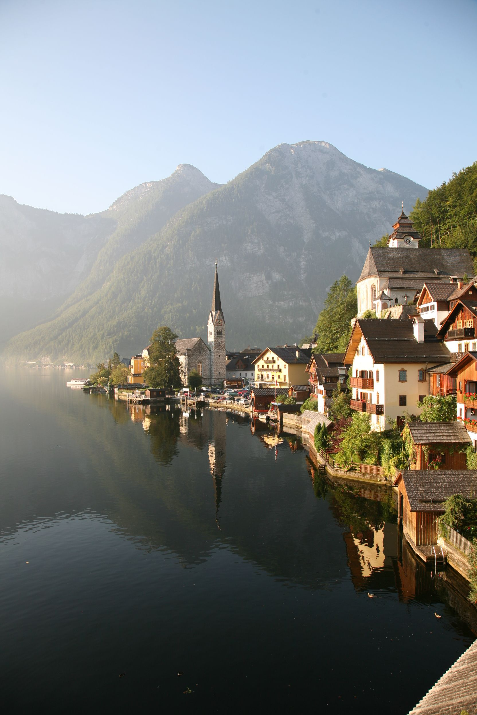 Hallstatt Is The Ultimate Definition Of How A Perfect Mountain