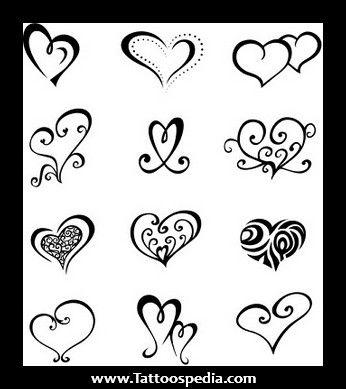 Heart 20girly 20tattoos 201 Heart Girly Tattoos Simple Heart Tattoos Small Heart Tattoos Heart Tattoo Designs
