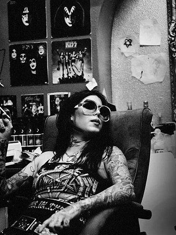 Kat Von D of Miami Ink