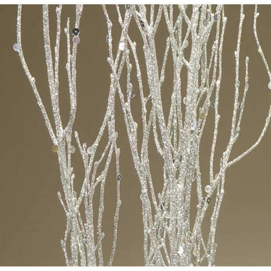 Sequin Glitter Birch Branches Silver Sparkle 3 4ft Bulk 36 Branches 44705239 Sequin Birch Silve Wedding Centerpieces Diy Diy Wedding Supplies Birch Branches