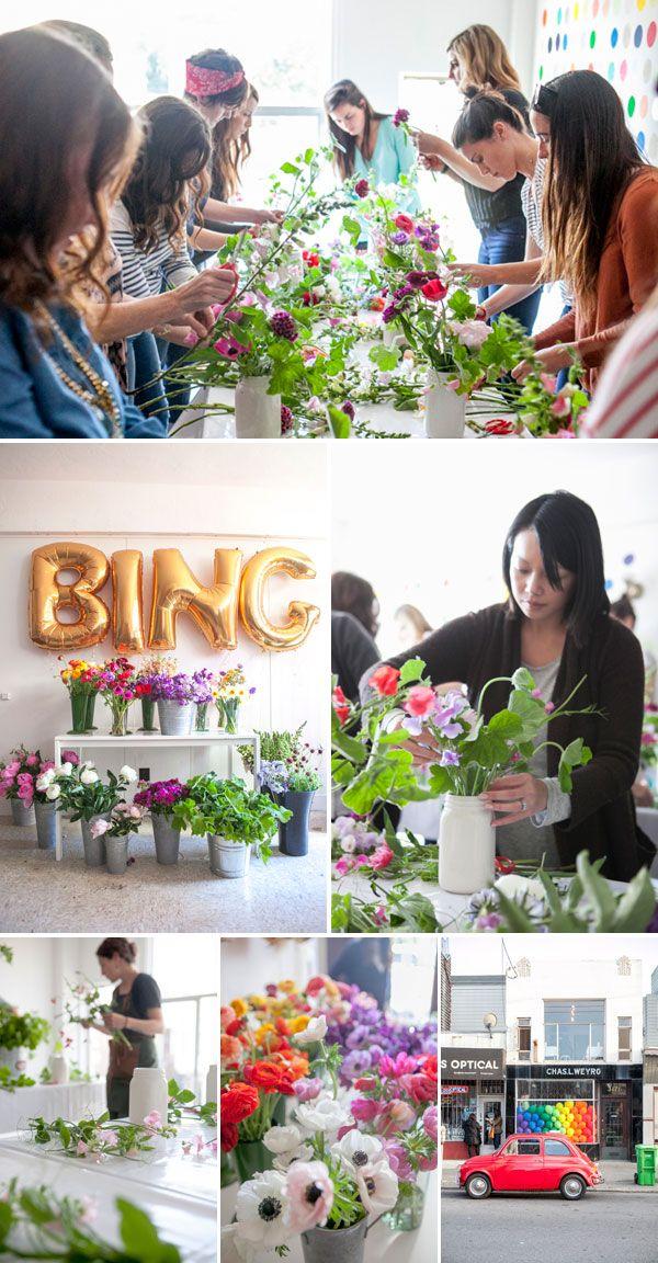 Flower Arrangement Classes Boston