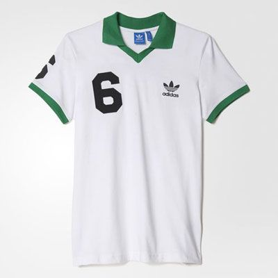 New York Cosmos style: Adidas Beckenbauer OG polo jersey