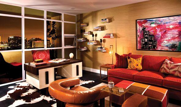 a tangerine home office - wow!! | Tangerine Tango | Pinterest ...