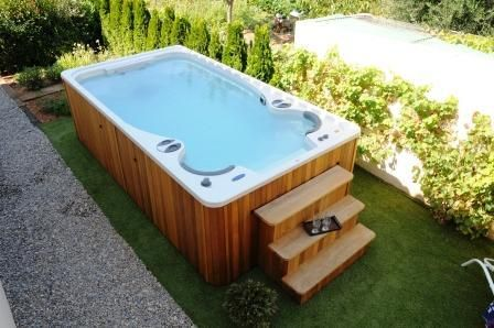 Aquaplay Portable Spa De Nage Clair Azur Outdoor Ideas In 2018