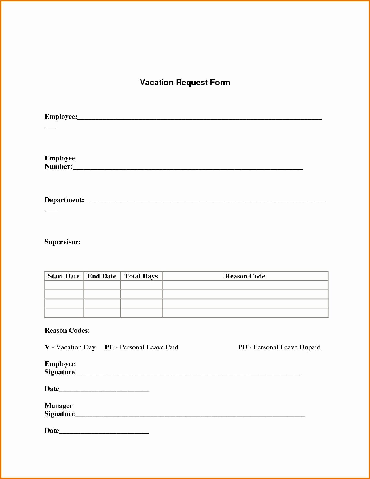 Leave Request Form Template Awesome Vacation Request Form Templatereference Letters Words Order Form Template Word Template Donation Request Form