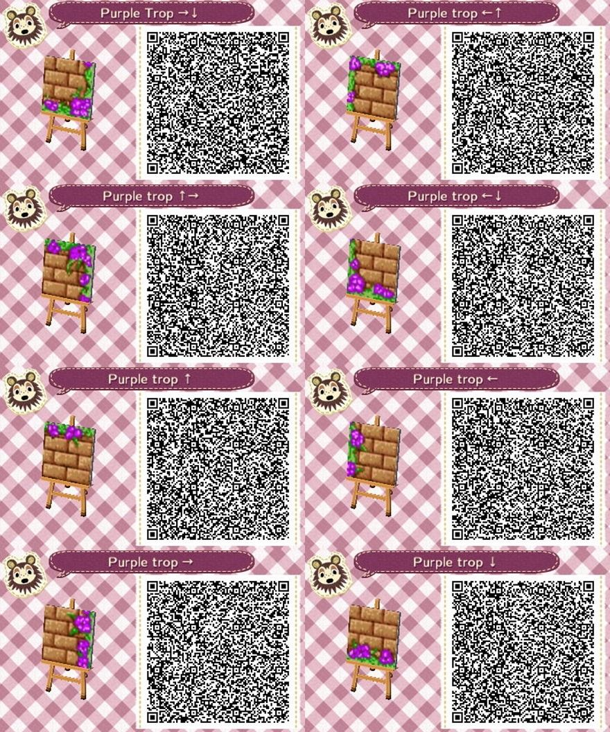 By Request Purple Version Of The Pink Tropical Path For Acnl