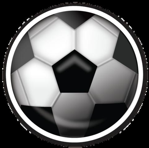 Soccer Ball Emojistickers Com Emojis Emoji Clipart