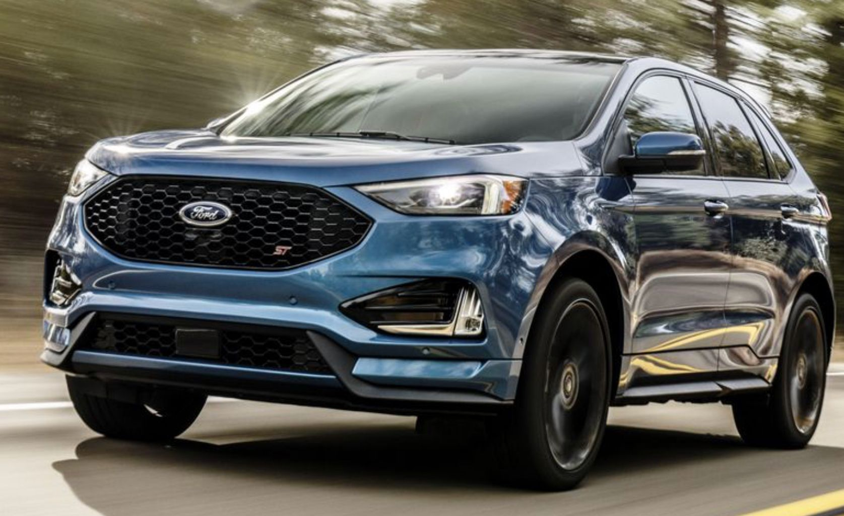 2019 Ford Edge St By Ford Performance Wow Ford Suv Ford Edge